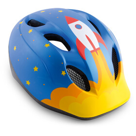 MET Buddy Bike Helmet Children yellow/blue